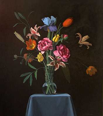 Baroque Flowers #4